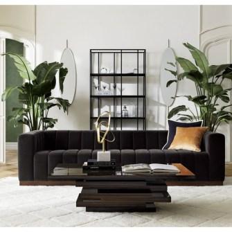 Cozy Black And White Living Room Design Ideas 37