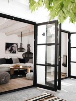 Cozy Black And White Living Room Design Ideas 39