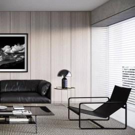 Cozy Black And White Living Room Design Ideas 40