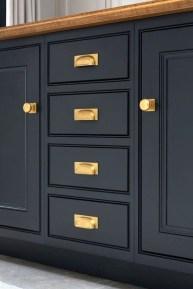 Elegant Navy Kitchen Cabinets For Decorating Your Kitchen 28