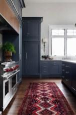 Elegant Navy Kitchen Cabinets For Decorating Your Kitchen 35