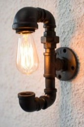 Fascinating Industrial Pipe Lamp For Home 04