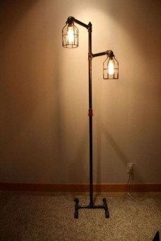 Fascinating Industrial Pipe Lamp For Home 18