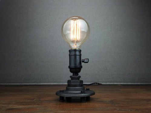 Fascinating Industrial Pipe Lamp For Home 35