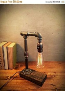 Fascinating Industrial Pipe Lamp For Home 36