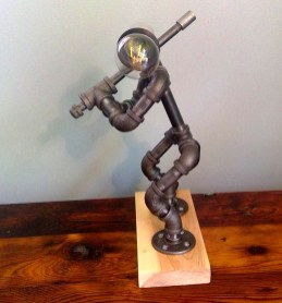 Fascinating Industrial Pipe Lamp For Home 49