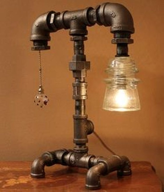 Fascinating Industrial Pipe Lamp For Home 51