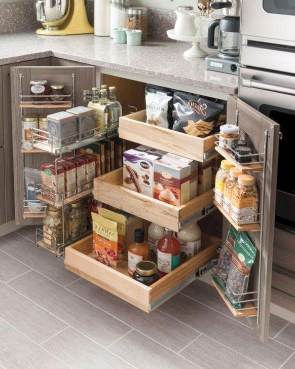 Genius And Creative Kitchen Organization Ideas 43