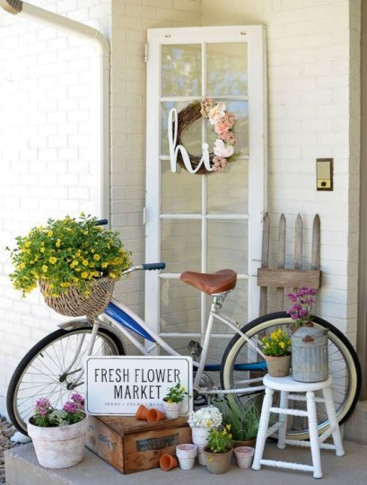 Impressive Porch Decoration Ideas For This Spring 39