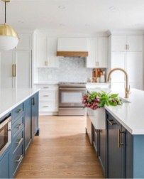 Inspiring Blue And White Kitchen Ideas To Love 43