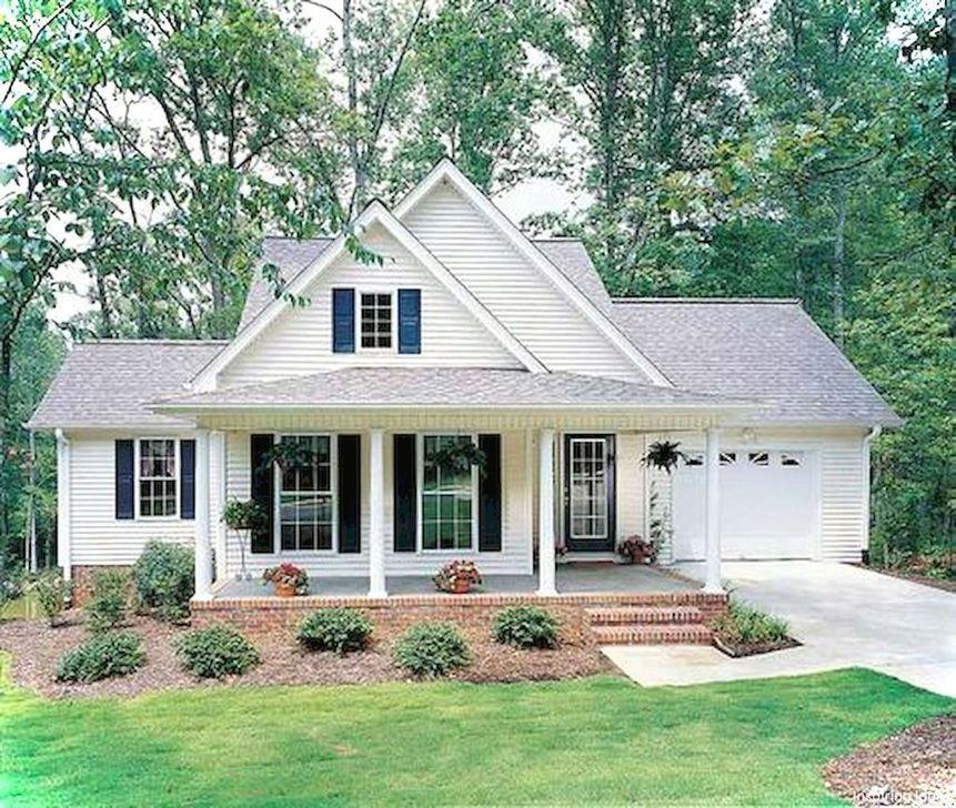 Marvelous Cottage House Exterior Design Ideas 22