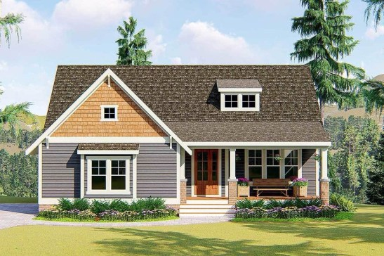 Marvelous Cottage House Exterior Design Ideas 41