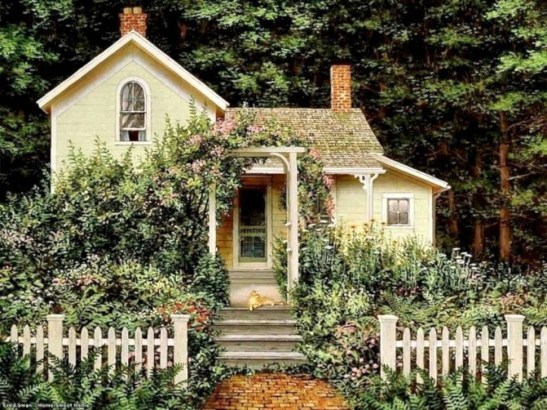 Marvelous Cottage House Exterior Design Ideas 42