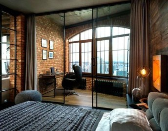 Modern Style For Industrial Bedroom Design Ideas 36