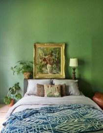 Natural Green Bedroom Design Ideas 11