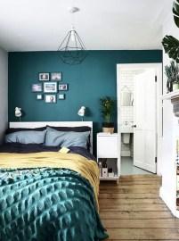 Natural Green Bedroom Design Ideas 13