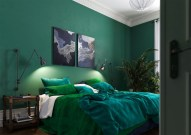 Natural Green Bedroom Design Ideas 15