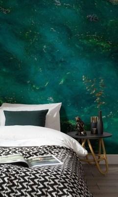 Natural Green Bedroom Design Ideas 25