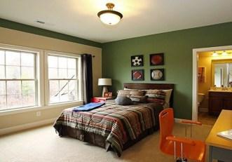 Natural Green Bedroom Design Ideas 29