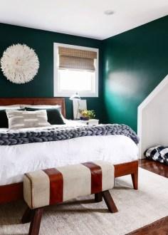 Natural Green Bedroom Design Ideas 33