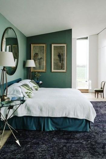 Natural Green Bedroom Design Ideas 43