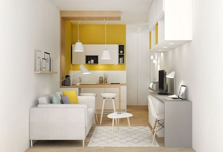 Perfect Apartment Decoration Ideas For Small Apartment 34