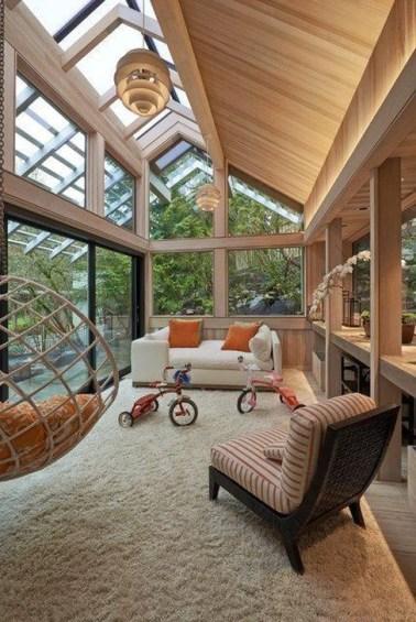 Popular Sun Room Design Ideas For Relaxing Room 45