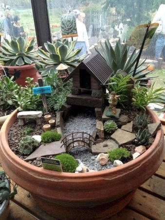 Pretty Fairy Garden Plants Ideas For Around Your Side Home 06