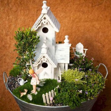 Pretty Fairy Garden Plants Ideas For Around Your Side Home 17