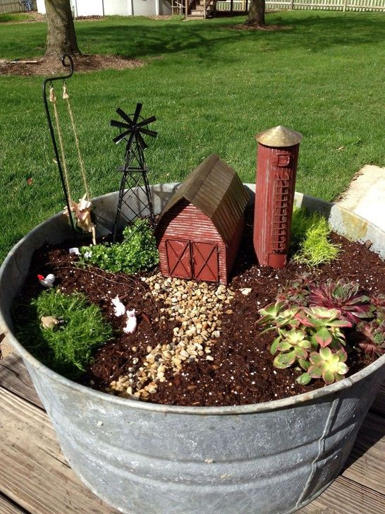 Pretty Fairy Garden Plants Ideas For Around Your Side Home 45