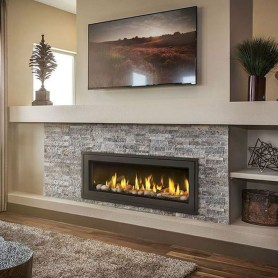 Rustic Farmhouse Fireplace Ideas For Your Living Room 05