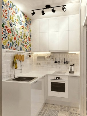 Simple Small Kitchen Design Ideas 2019 16