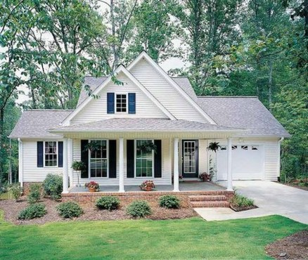 Awesome Farmhouse Home Exterior Design Ideas 17