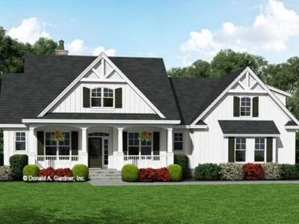 Awesome Farmhouse Home Exterior Design Ideas 30