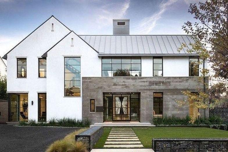 Awesome Farmhouse Home Exterior Design Ideas 31