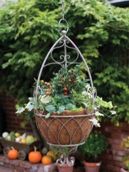 Beautiful Hanging Planter Ideas For Outdoor 27