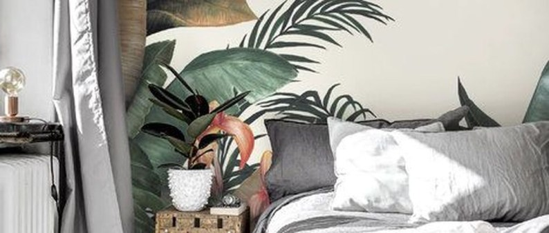 Best Ideas Of Tropical Wall Mural For Summer 08