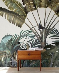 Best Ideas Of Tropical Wall Mural For Summer 20
