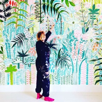 Best Ideas Of Tropical Wall Mural For Summer 24