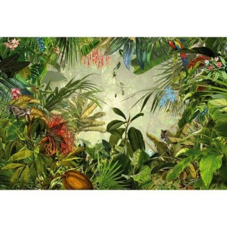 Best Ideas Of Tropical Wall Mural For Summer 25