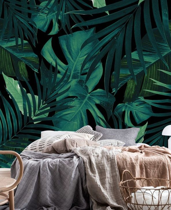 Best Ideas Of Tropical Wall Mural For Summer 26
