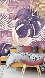 Best Ideas Of Tropical Wall Mural For Summer 27