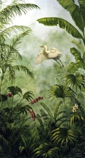 Best Ideas Of Tropical Wall Mural For Summer 29
