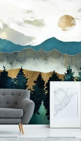 Best Ideas Of Tropical Wall Mural For Summer 40