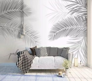 Best Ideas Of Tropical Wall Mural For Summer 49