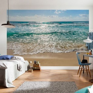 Best Ideas Of Tropical Wall Mural For Summer 51