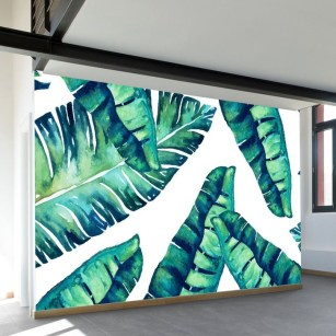 Best Ideas Of Tropical Wall Mural For Summer 52