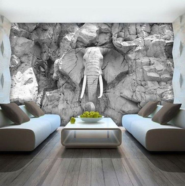 Best Ideas Of Tropical Wall Mural For Summer 54