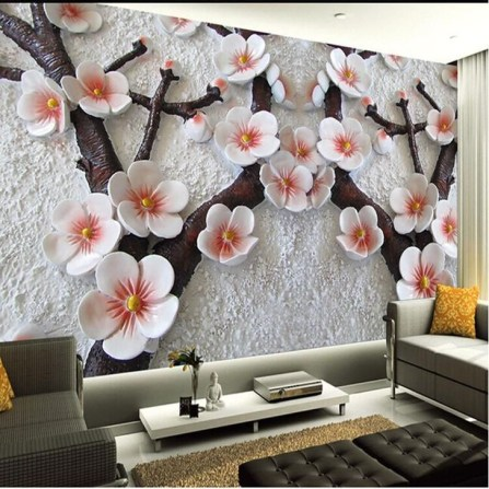 Best Ideas Of Tropical Wall Mural For Summer 57