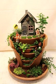 Brilliant DIY Fairy Garden Design Ideas 07
